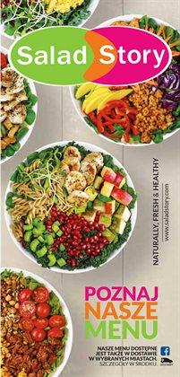 Oferty Restauracje i kawiarnie na ulotce Salad Story ( Ponad miesiąc)