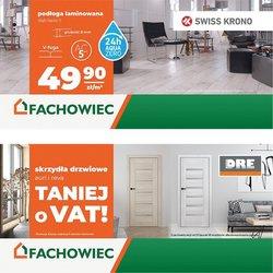 Oferty Budownictwo i ogród na ulotce Grupa Fachowiec ( Ważny 27 dni)