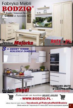 Oferty Dom i meble w Meble Bodzio w Kraków ( Ponad miesiąc )