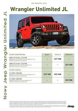 Gazetka Jeep ( Wygasle )