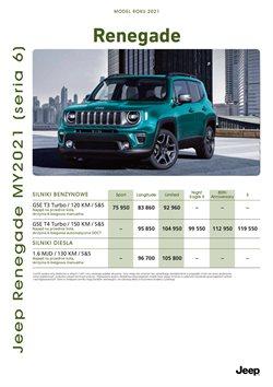 Oferty Samochody, motory i części samochodowe na ulotce Jeep ( Ponad miesiąc)