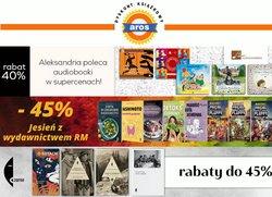 Oferty Książki i artykuły biurowe na ulotce Aros.pl ( Wydany dzisiaj)