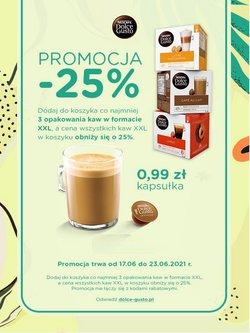 Oferty Restauracje i kawiarnie na ulotce Dolce Gusto ( Wygasa jutro)