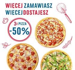 Oferty Restauracje i kawiarnie w Domino's Pizza ( Ważny 14 dni )