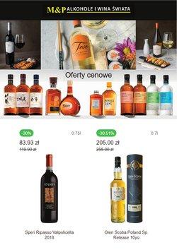Oferty Restauracje i kawiarnie na ulotce M&P Alkohole i Wina Świata ( Ważny 5 dni)