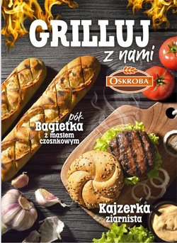 Oferty Restauracje i kawiarnie na ulotce Oskroba ( Ponad miesiąc)