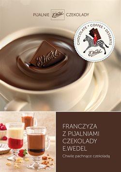 Oferty Restauracje i kawiarnie na ulotce Pijalnie Czekolady E. Wedel ( Ponad miesiąc)