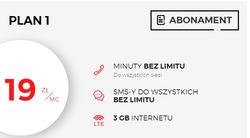 Oferty Virgin Mobile na ulotce Kraków