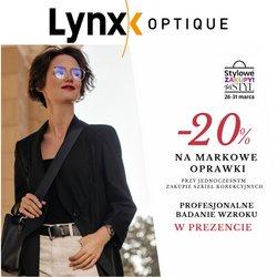 Gazetka Lynx Optique ( Wygasle )