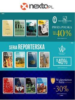 Oferty Książki i artykuły biurowe na ulotce Nexto ( Wygasa jutro)