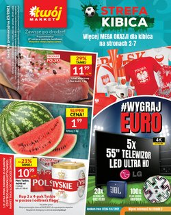 Oferty Supermarkety na ulotce Twój Market ( Wydany dzisiaj)