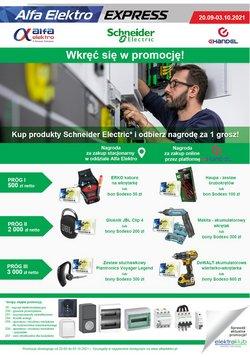 Oferty Elektronika i AGD na ulotce Alfa Elektro ( Wygasa dzisiaj)