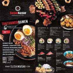 Oferty Restauracje i kawiarnie na ulotce Sushi Kushi ( Ważny 12 dni)