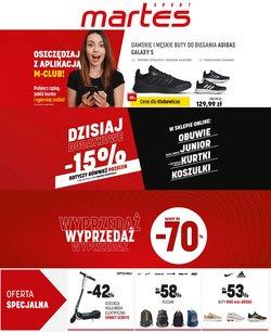 Oferty Sport na ulotce Martes Sport ( Wydany dzisiaj)