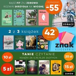 Gazetka Wydawnictwo Znak ( Wygasa dzisiaj )
