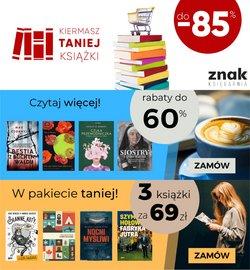 Oferty Wydawnictwo Znak na ulotce Wydawnictwo Znak ( Ważny 20 dni)
