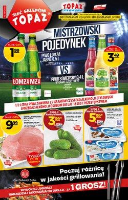 Oferty Supermarkety na ulotce Topaz ( Wygasa jutro)