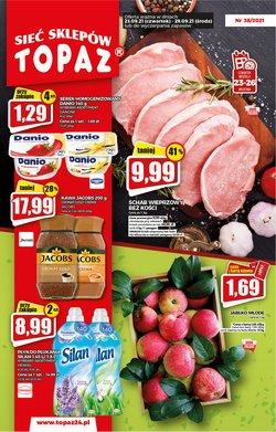Oferty Supermarkety na ulotce Topaz ( Wydany dzisiaj)