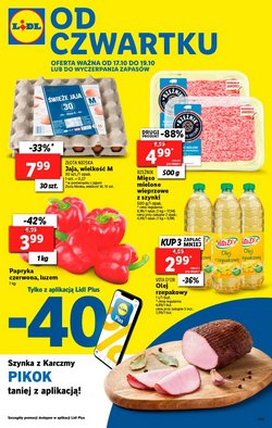 Oferty Lidl na ulotce Gniezno