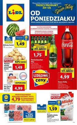 Oferty Supermarkety na ulotce Lidl ( Wygasa jutro)
