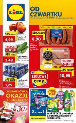 Oferty Supermarkety na ulotce Lidl ( Ważny 2 dni)
