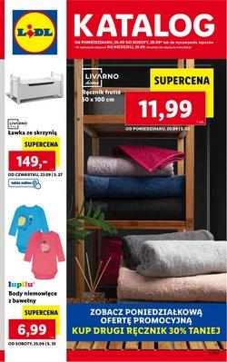 Oferty Supermarkety na ulotce Lidl ( Ważny 3 dni)