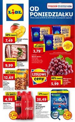 Oferty Supermarkety na ulotce Lidl ( Wydany dzisiaj)