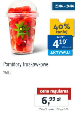 Oferty Lidl na ulotce Płock