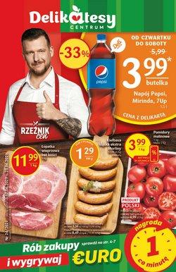 Oferty Supermarkety na ulotce Delikatesy Centrum ( Wygasa jutro)
