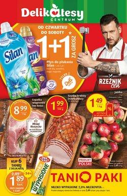 Oferty Supermarkety na ulotce Delikatesy Centrum ( Wydany dzisiaj)