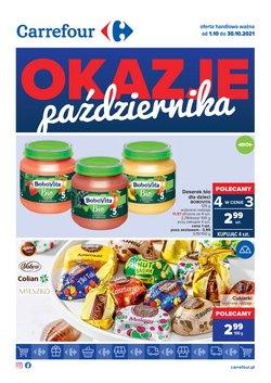 Oferty Supermarkety na ulotce Carrefour ( Ważny 13 dni)