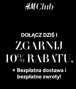 Oferty H&M na ulotce Kraków