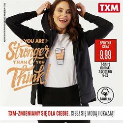 Gazetka TXM textilmarket ( Wygasle )
