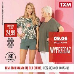 Oferty Ubrania, buty i akcesoria na ulotce TXM textilmarket ( Wygasa dzisiaj)