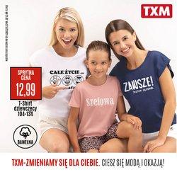 Oferty Ubrania, buty i akcesoria na ulotce TXM textilmarket ( Ważny 3 dni)
