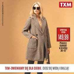 Oferty Ubrania, buty i akcesoria na ulotce TXM textilmarket ( Wygasa jutro)