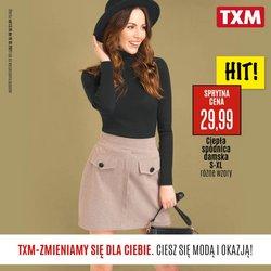 Oferty Ubrania, buty i akcesoria na ulotce TXM textilmarket ( Ważny 2 dni)