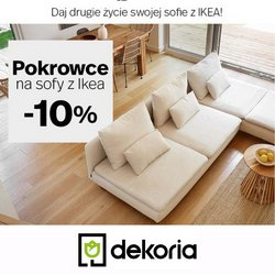 Oferty Dekoria na ulotce Dekoria ( Ważny 4 dni)