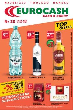 Oferty Supermarkety na ulotce Eurocash ( Wydany wczoraj)