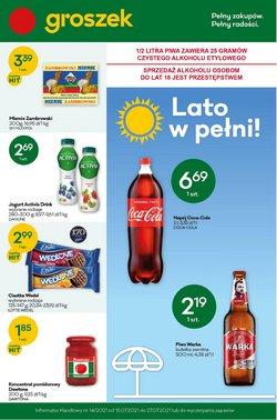 Oferty Supermarkety na ulotce Groszek ( Ważny 3 dni)