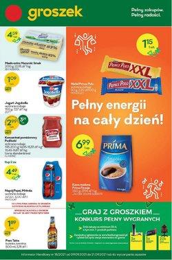 Oferty Supermarkety na ulotce Groszek ( Wygasa jutro)