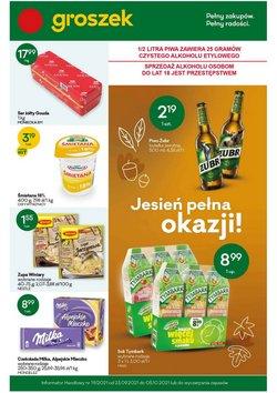 Oferty Supermarkety na ulotce Groszek ( Wydany dzisiaj)