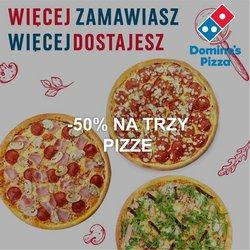 Oferty Restauracje i kawiarnie na ulotce Pizza Dominium ( Wydany dzisiaj)
