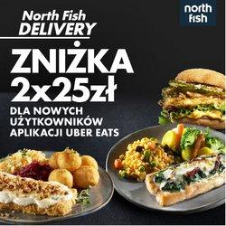 Oferty Restauracje i kawiarnie na ulotce North Fish ( Ponad miesiąc)