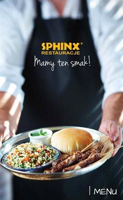 Gazetka Restauracje Sphinx ( Ponad miesiąc )