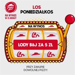 Oferty Restauracje i kawiarnie w Pizza Hut w Łódź ( Ważny 22 dni )