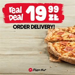 Gazetka Pizza Hut ( Ważny 18 dni )