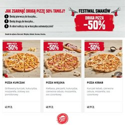 Oferty Restauracje i kawiarnie na ulotce Pizza Hut ( Wydany wczoraj)
