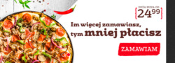 Oferty Pizza Hut na ulotce Warszawa