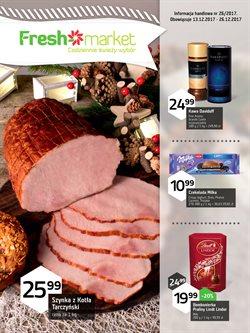Oferty Freshmarket na ulotce Warszawa